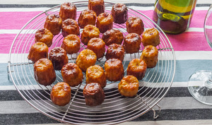 Cannelés jambon fromage