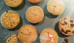 Muffin à la farine de chataigne