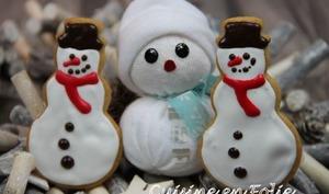 Sablés bonhomme de neige
