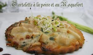 Tartelette à la poire et au Roquefort