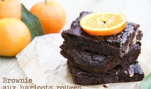 Brownie végétal aux haricots rouges