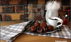 Truffes végétaliennes aux cerises façon Mon Chéri