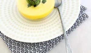 Sabayon orange-vanille au baby kiwi frais