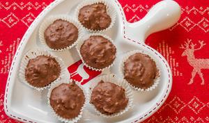 Bouchées croustillantes au chocolat