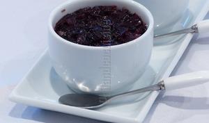 Confit d'oignon rouge au vinaigre balsamique