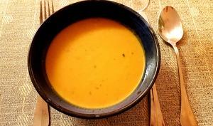 Soupe hivernale marron potiron