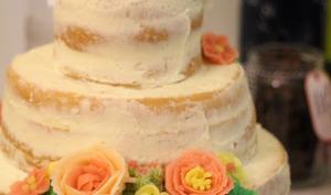 Naked cake à la crème de citron bergamote