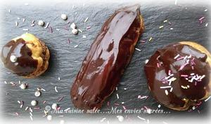 Éclairs aux chocolat