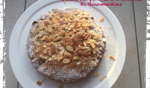 Gâteau aux pommes et 3 amandes