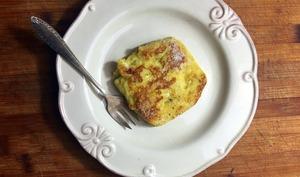 Le pain perdu au rhum et au beurre salé d'Eva