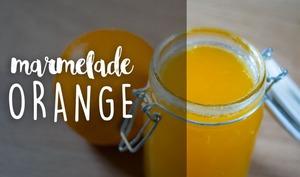 Marmelade à l'orange maison