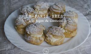 Paris-Brest façon Philipe Conticini