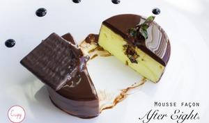 Mousse menthe chocolat façon After Eight©