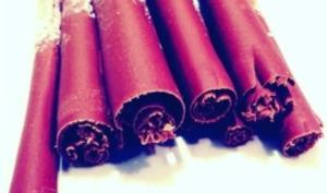 Les bâtons de chocolat