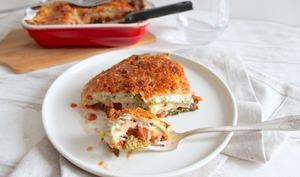 Lasagnes végétariennes de chou vert