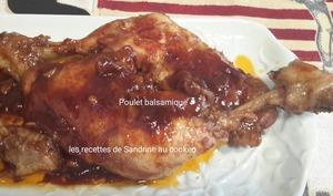 Poulet au vinaigre balsamique et au miel