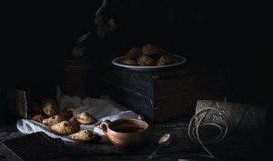 Madeleines aux pépites de chocolat
