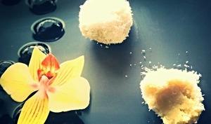 Perles de coco chinoises à la vapeur