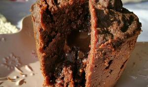 Moelleux chocolat gingembre sans gluten sans lait et sans sucre