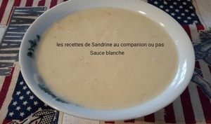 Sauce blanche