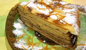 Gâteau de crêpes d'après Christophe Felder