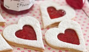 Sablés Coeur rouge d'Amour