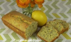 Cake citron, graines de Chia