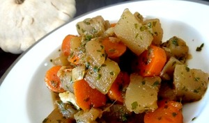 Pâtisson aux carottes