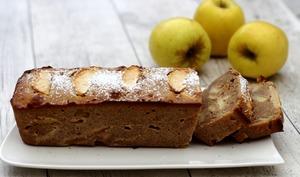 Cake aux pommes et amandes extra moelleux