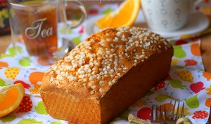 Cake à l'orange moelleux facile