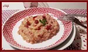 Risotto au Jambon et tomates séchées