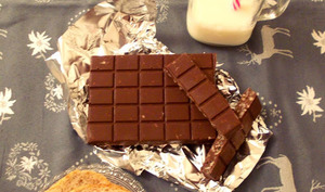 Hey mon ami ! T'aimes ça manger du chocolat ?