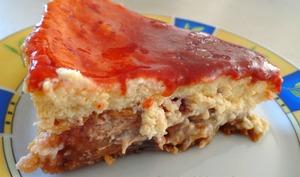 Cheesecake aux spéculoos et aux figues