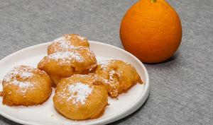 Beignets à l'orange