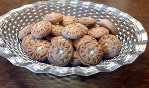 Biscuits sablés rhum coco