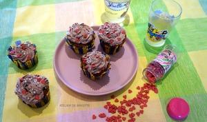 Cupcakes Framboises Chocolat