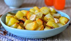 Pommes de terre au four rôties