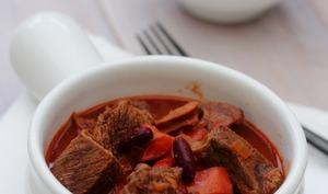 Boeuf mijoté façon chili con carne