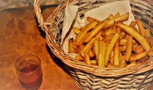 Les frites du foodtruck ~ Sherlock