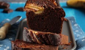 Cake au chocolat & banane