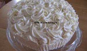 Rainbow cake ou gâteau Arc en ciel