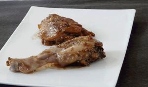 Poulet au poivre et au sésame