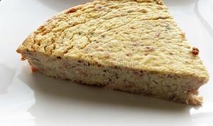 Gâteau de chou-fleur, fromage blanc et parmesan