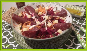 Salade de Carotte et betterave crue