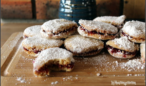 Biscuits finlandais à la petite cuillère
