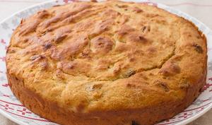 Cake à la ricotta et aux raisins