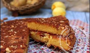Gâteau moelleux au citron, amandes… et pommes de terre