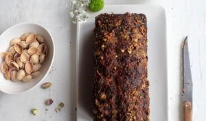 Cake marbré choco - pistache