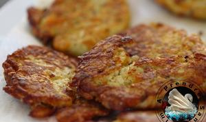 Röstis de pommes de terre au fromage