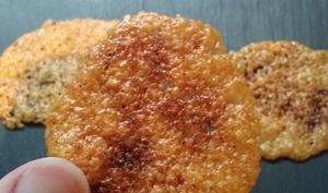 Biscuits de parmesan